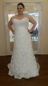 Maggie Sottero- Front View
